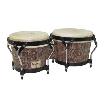 Tycoon Percussion : 7 & 8 1/2 Supremo Select Series Bongos Island Palm Series