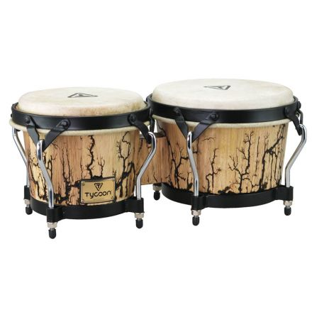 Tycoon Supremo Select Series 7&8.5in Bongos with Willow Finish