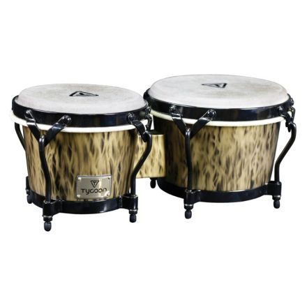 Tycoon Percussion Supremo Select Series Kinetic Gold Finish Bongos 7 inch. & 8-1/2 inch.