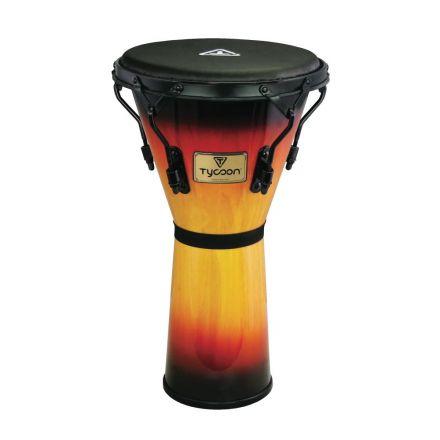 Tycoon Percussion 12 Supremo Sunburst Series Djembe