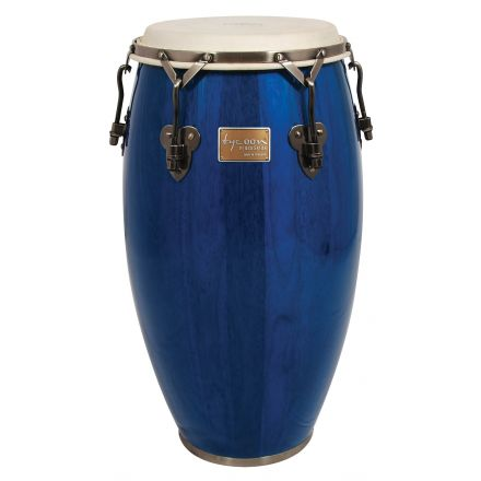 Tycoon Percussion 12 1/2 Signature Classic Series Blue Tumba With Matching Single Stand