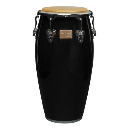 Tycoon 11 3/4 Master Classic Series Black Conga With Stand