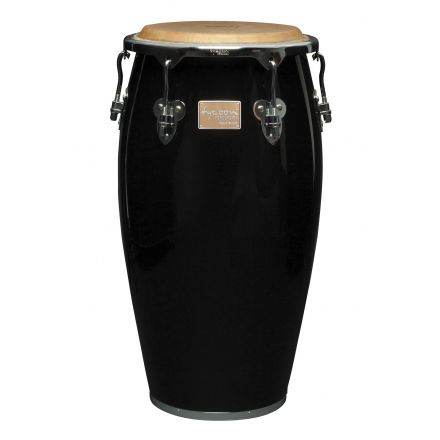 Tycoon 12 1/2 Master Classic Series Black Tumba With Stand