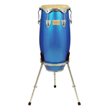 Tycoon Percussion 10 Concerto Series Blue Spectrum Requinto With Single Stand