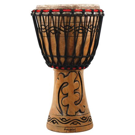 Tycoon Percussion Traditional Series 10 African Djembe