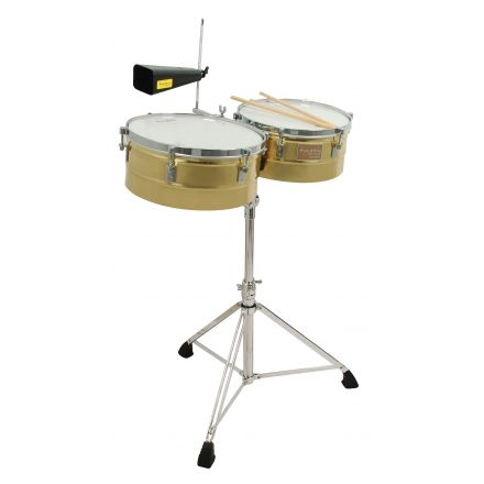 Tycoon Percussion 14 & 15 Brass Shell Timbales