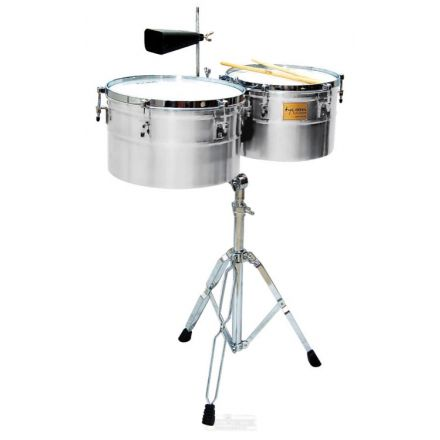 Tycoon Deep-shell Chrome Finish Timbales