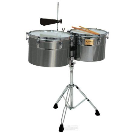 Tycoon Extra-deep Shell Brushed Chrome Timbales