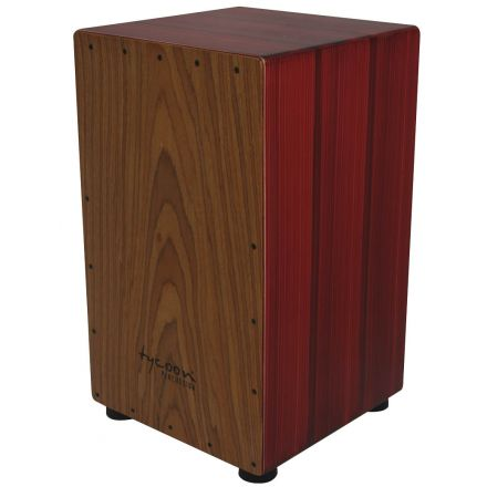Tycoon Percussion 29 Artist Hand-Painted Series Cajon With Red Body