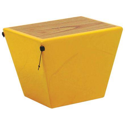 Tycoon Percussion Siam Oak Quinto Cajon - Yellow