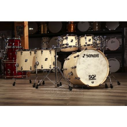 Sonor SQ2 Maple 6pc Drum Set Birdseye Maple 1010955-2
