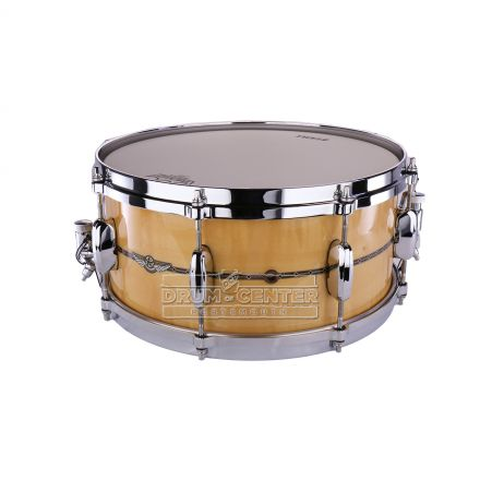 Tama Star Maple Snare Drum - 14x6.5 - Gloss Natural Curly Maple