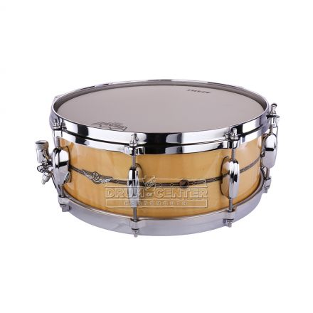 Tama Star Maple Snare Drum - 14x5.5 - Gloss Natural Curly Maple
