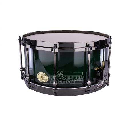Noble And Cooley Solid Ply Hickory 14x7 Snare Drum with Burst Finish and Die Cast Hoops