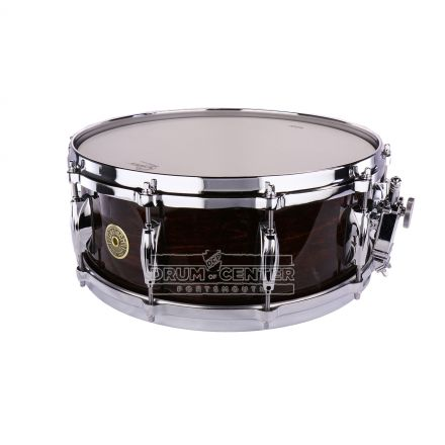 Gretsch USA Custom Snare Drum - 14x5.5 - Dark Walnut Gloss - 8 Lug w/ Micro-Sensitive