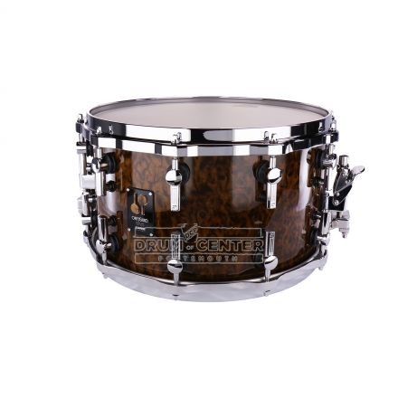 Sonor One Of A Kind Maple Snare Drum 14x8 with Brown Oak Veneer
