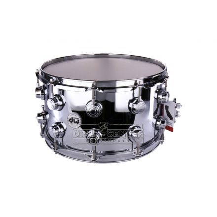 DW Collectors Chrome Over Brass Prototype Snare Drum - B-Stock Deal! - 14x8