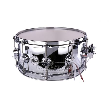 DW Collectors Chrome Over Brass Prototype Snare Drum - B-Stock Deal! - 14x6.5