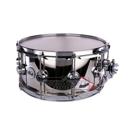DW Collectors Nickel Over Brass Prototype Snare Drum - B-Stock Deal! - 14x6.5