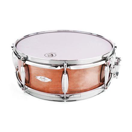 C&C Aged Copper Over Steel Snare Drum 14x5 8-Lug DEMO MODEL
