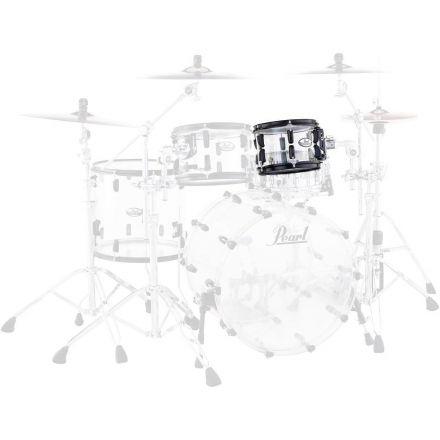 "Pearl Crystal Beat 10""x7"" Tom - Ultra Clear - Black Hardware"