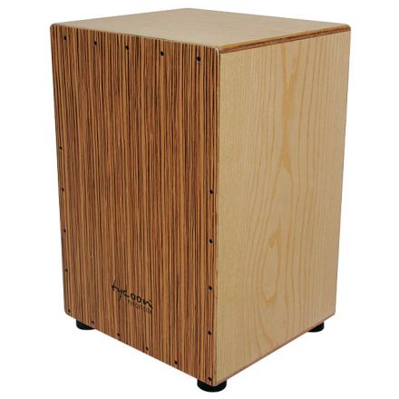 Tycoon Percussion 35 Series Birch Cajon With Zebrano Front Plate