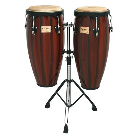 Tycoon 10 & 11 Artist Hand Painted Series Red Requinto Congas