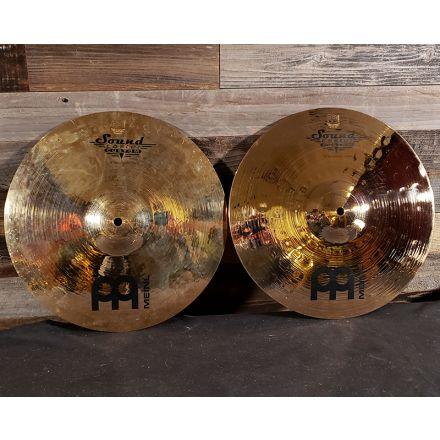 Used Meinl Soundcaster Custom Medium Hi Hat Cymbals 14