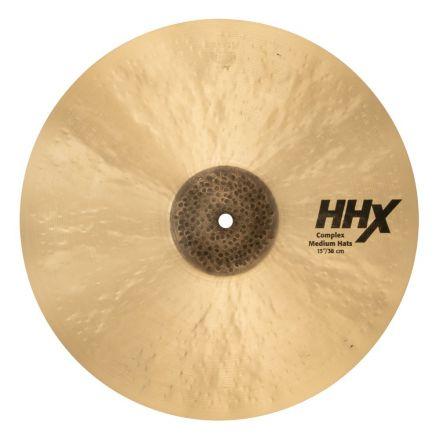 """Sabian HHX Complex Medium Hi Hat Cymbals 15"""""""