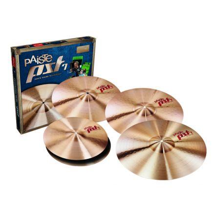 Paiste PST 7 Rock Cymbal Box Set w/ FREE Crash
