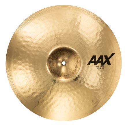 Sabian AAX 18 Thin Crash Brilliant
