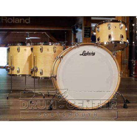Ludwig Legacy Maple 4pc Bonham Drum Set - Natural Maple