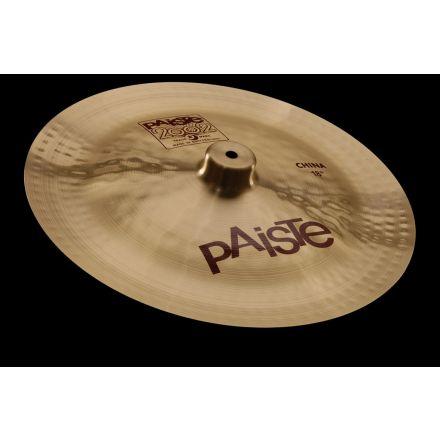 """Paiste 2002 China Type Cymbal 20"""""""