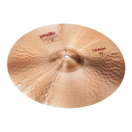 "Paiste 2002 Crash Cymbal 16"""