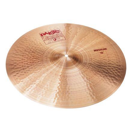 "Paiste 2002 Medium Crash Cymbal 18"""