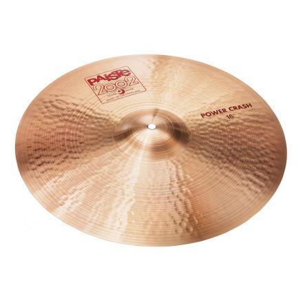 "Paiste 2002 Power Crash Cymbal 16"""