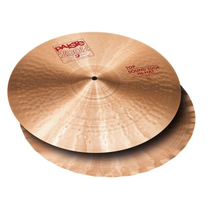 "Paiste 2002 Sound Edge Hi Hat Cymbals 15"""