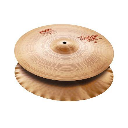 "Paiste 2002 Sound Edge Hi Hat Cymbals 14"""