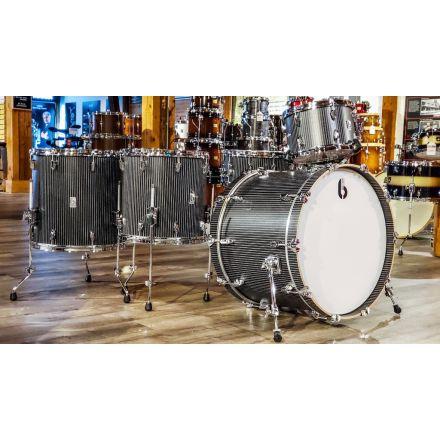 British Drum Co Legend SE Club 5pc Drum Set 12/14/16/14/22 - The Executive - NAMM Demo