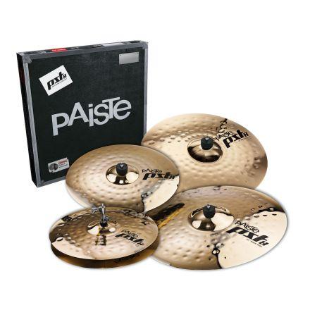 "Paiste PST 8 Reflector Premium Rock Cymbal Set 14/16/22 + Free 18"" Crash"