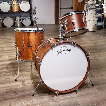 Used George Way Tradition Mahogany Drum Set 22/12/16 Matte Natural