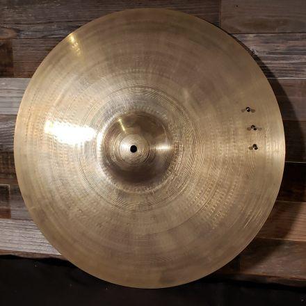 Used Zildjian A Custom Ride Cymbal (w/ 3 rivets) 20