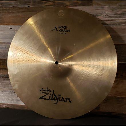 Used Zildjian A Rock Crash Cymbal 18