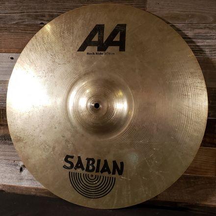 Used Sabian AA Rock Ride Cymbal 20