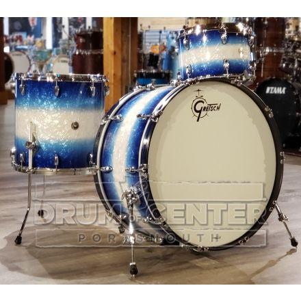 Gretsch Brooklyn 3pc Drum Set w/26bd - Blue Burst