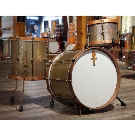Used A&F Sabian Ankh Limited Edition Bronze Bop Drum Set