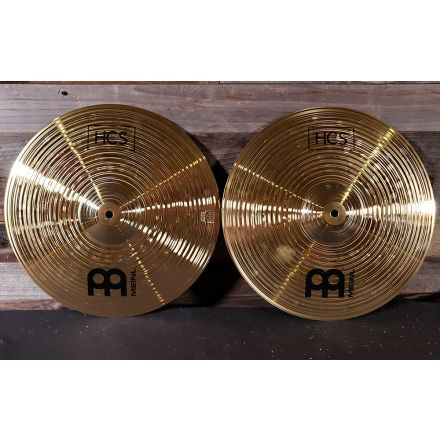 Used Meinl HCS Hi Hat Cymbals 14