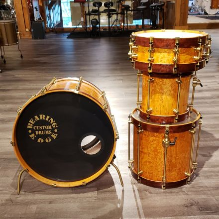 Used Bearing Edge 4pc Drum Set