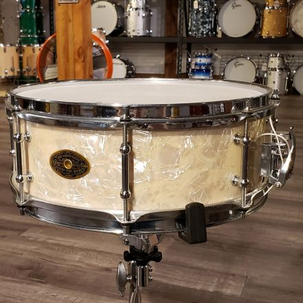 Used Montineri Steam Bent Maple Snare 14x5 Aged WMP