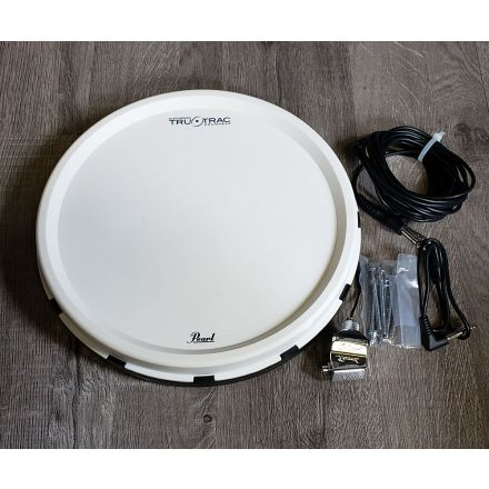 Used Pearl Tru Trac Pad w/No Drill Adapter and Cable 12